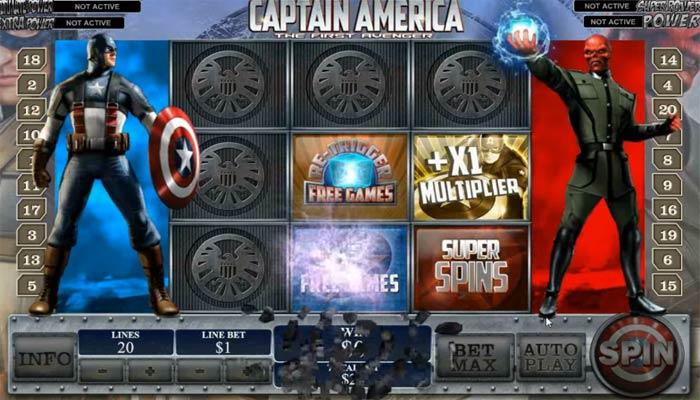 Captain America Jackpot
