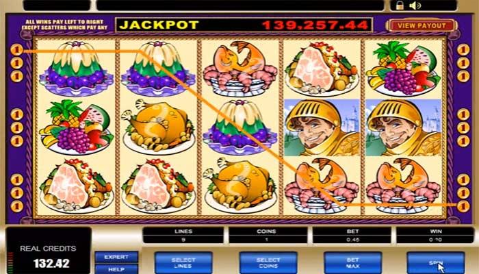King Cashalot Microgaming Spielautomat