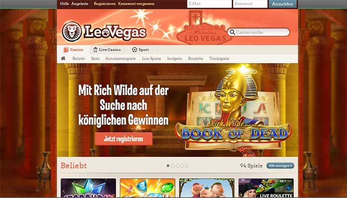 leovegas Jackpot Casino
