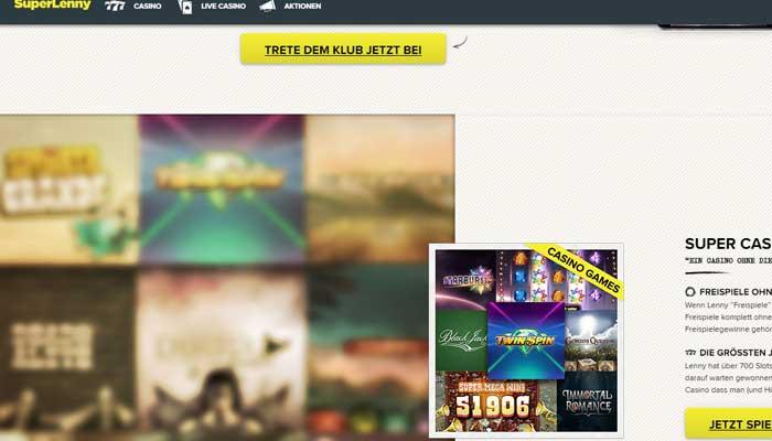 Superlenny Jackpot Casino